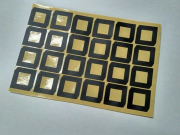 Color Custom Die Cut Products Flat  Bright  Surface With Good Tensile Strength